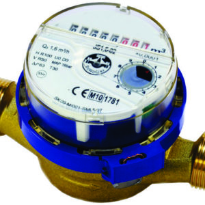 Single jet type water meter